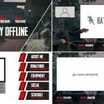[FREE] Battalion 1944 Twitch Package by Lyana Designs/F4INT