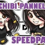 [Speedpaint] Twitch Panels