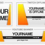 Yellowring (Youtube Banner, Logo, Twitch Offline - Templates) + TUTORIAL (how to edit)