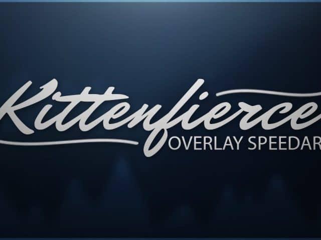 Kittenfierce | Twitch Overlay Speedart | Photoshop