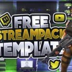 Fortnite Battle Royale Streampack template | GFX | Seangraphicx