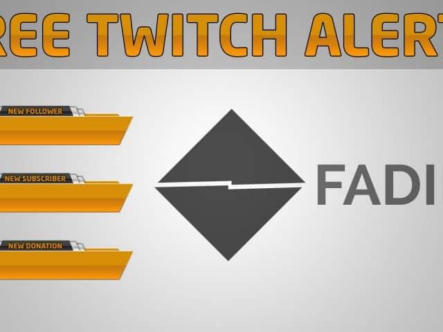 Twitch Alerts | Free Download + Speed Art