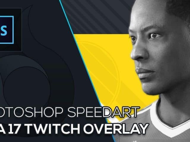 Fifa 17 Twitch Overlay | Photoshop Speedart | Molten Pixel TV