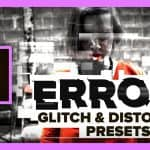 ERROR – Free Glitch & Distortion Presets for Premiere Pro | Cinecom.net